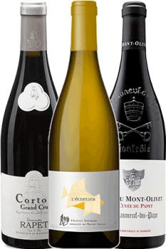 Coffret de vins Connaisseur 3 Bouteilles