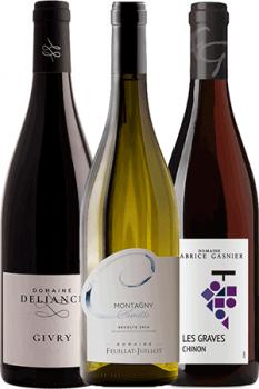 Coffret Vins de 3 bouteilles Prêt à offrir Initiation