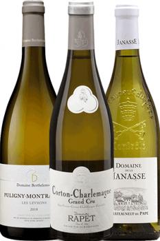Coffret Vins de 3 bouteilles Prêt à offrir Les Grands Blancs