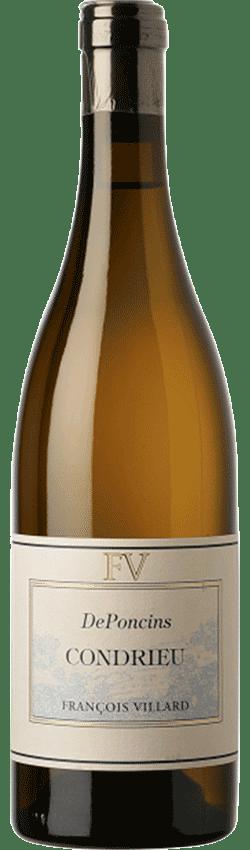 Bouteille de vins Condrieu Deponcins du Domaine François Villard
