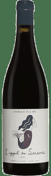 Bouteille de vin L'appel des Sereines Syrah Domaine François Villard