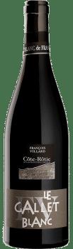 Bouteille de vin Côte-Rôtie Gallet Blanc du Domaine François Villard