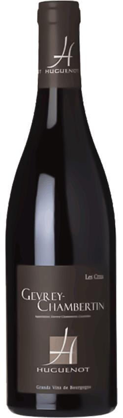 Bouteille de vin Gevrey-Chambertin Les Crais du Domaine Huguenot en Bourgogne