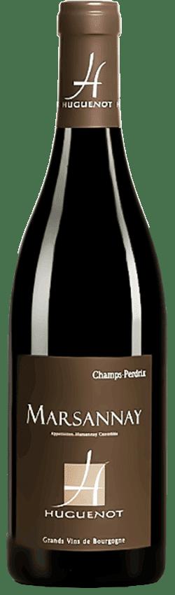Bouteille de vin Marsannay Champs-Perdrix du Domaine Huguenot en Bourgogne