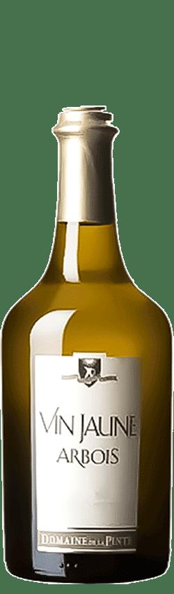 Bouteille de vin jaune du Domaine de la Pinte