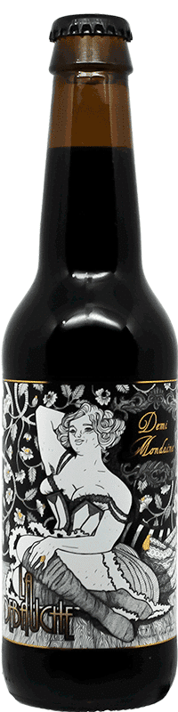 Bouteille de Bière Demi Mondaine de la brasserie La Débauche