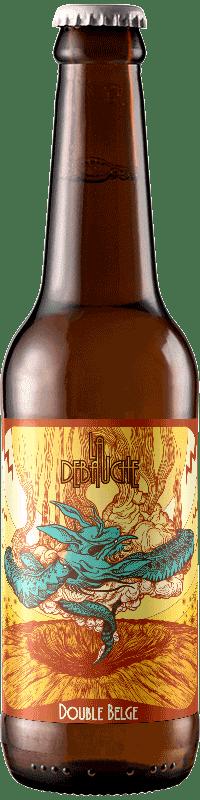 Bouteille de Bière Double Belge de la brasserie La Débauche