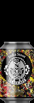 black Ale India Stout Bouteille de Bière de la brasserie La Débauche