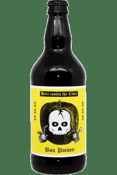 Bouteille de Cidre Cider de la brasserie Bon Poison