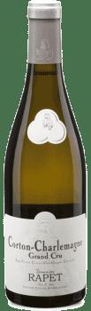 Bouteille de vin Corton-Charlemagne du Domaine Rapet Père et Fils