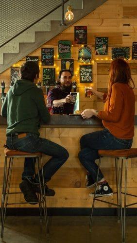 Bar de la brasserie La Débauche