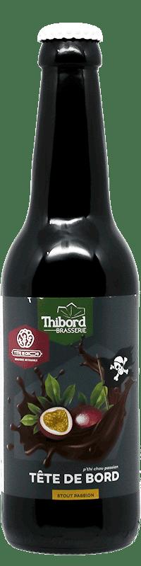 Bouteille de bière Stout Passion Brasserie Thibord