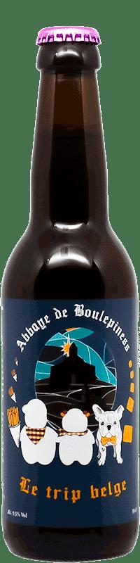 Bière Triple Belge Brasserie la Bouledogue et Mappiness
