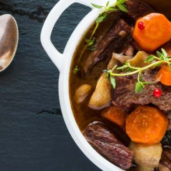 Vin et boeuf bourguignon find a Bottle