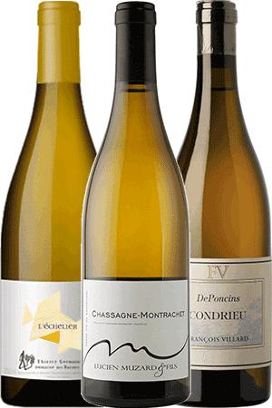 Coffret de vins les Grands vins Blancs