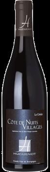 Bouteille de vin Côte de Nuits Village La Créole du Domaine Huguenot en Bourgogne