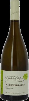 Bouteille de vin Mâcon-Villages Le Clos du Domaine Sophie Cinier