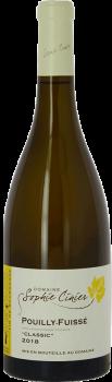 Bouteille de vin Pouilly-Fuissé Classic du Domaine Sophie Cinier