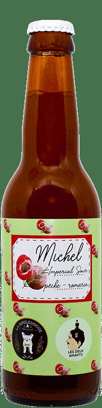 Bouteille de bière Michel Brasserie La Bouledogue