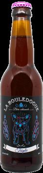 Bouteille de bière Triple Brasserie La Bouledogue