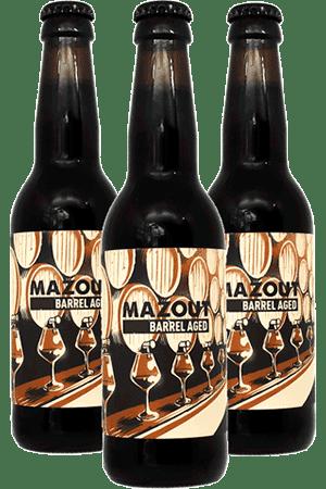 Coffret de bières Mazout Barrel Aged.