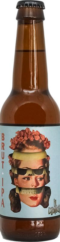 Bouteille de Bière Brut IPA de la brasserie La Débauche
