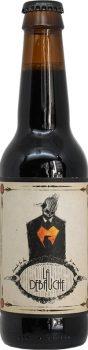 Bouteille de Bière Nevermore XO Cognac Imperial Stout de la brasserie La Débauche