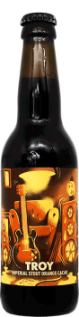 Bouteille de bière artisanale Troy Imperial Stout Brasserie Hoppy Road