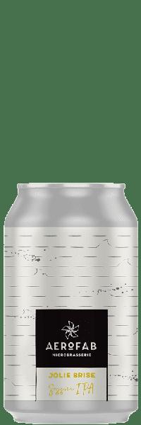 Canette de bière Jolie Brise Session IPA brasserie aerofab