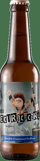 Bouteille de bière Electric Circus Double IPA Brasserie Piggy Brewing Company