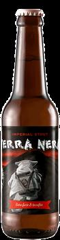 Bouteille de bière Terra Nera Imperial Stout Brasserie Piggy Brewing Company