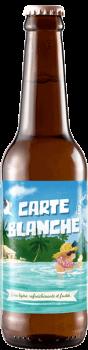 Bouteille de bière Carte Blanche Brasserie Piggy Brewing Company