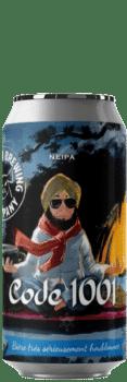 Canette de bière code 1001 Neipa Piggy Brewing Company