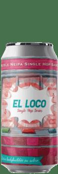 Canette de bière El loco double neipa sabro Brasserie Piggy Brcode 1001 Neipa Piggy Brewing Company