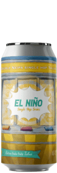 Canette de bière el nino double neipa talus Brasserie Piggy Brcode 1001 Neipa Piggy Brewing Company