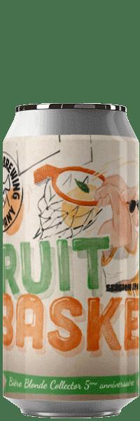 Canette de bière Fruit Basket Session IPA Brasserie Piggy Brcode 1001 Neipa Piggy Brewing Company