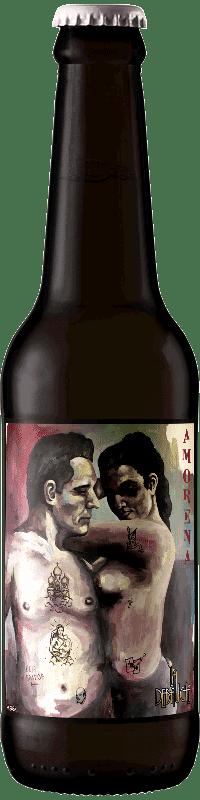 Bouteille de Bière Amorena de la brasserie La Débauche
