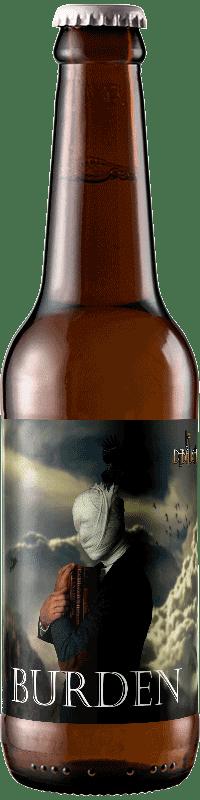 Bouteille de Bière Burden Belgian NEIPA de la brasserie La Débauche