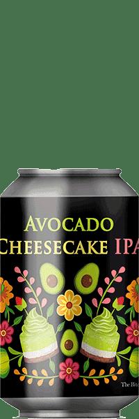 Canette de Bière Avocado Cheesecake IPA de la brasserie La Débauche