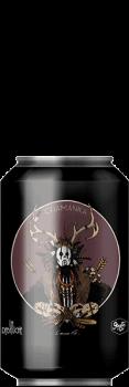 Canette de Bière Chamanka Black IPA Mezcalde la brasserie La Débauche