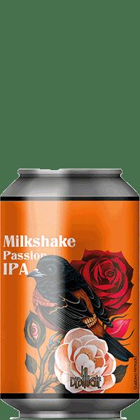 Canette de Bière Milkshake Passion IPA de la brasserie La Débauche
