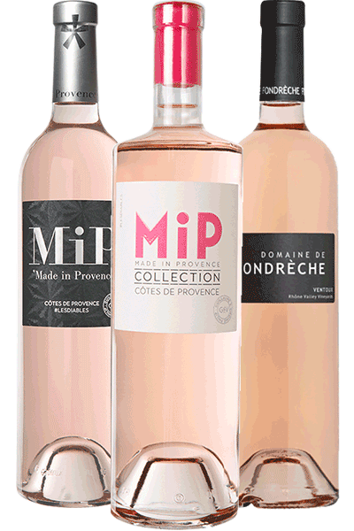 Coffret de vins rosés La vie en rosés