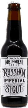 Bouteille de bière Russian Imperial Stout Brasserie Independent House