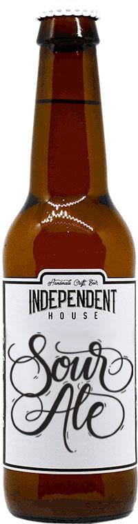 Bouteille de bière Sour Ale Brasserie Independent House