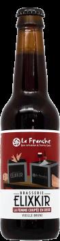bouteille de biere vieille brune brasserie elixkir