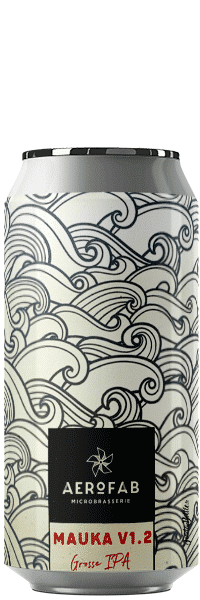 Canette de bière Mauka Grosse IPA brasserie aerofab