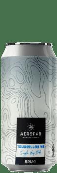 Canette de bière tourbillon single hop bru 1 ipa brasserie aerofab