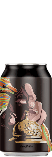 Canette de bière artisanale Don Hector Brasserie Hoppy Road