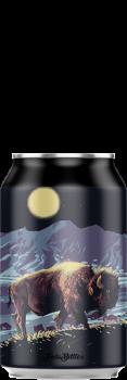 Canette de bière artisanale Tatanka Imperial Stout Brasserie Hoppy Road