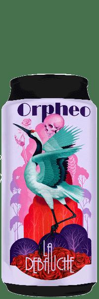 Canette de Bière Orpheo DDH Pale Ale de la brasserie La Débauche